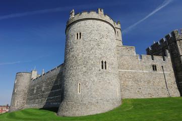 Windsor Castle on Blue Sky Day