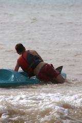 Corso di canoa - La salita in acqua