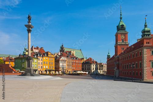 Castle Square in Warsaw, Poland - 22563394