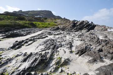 paesaggio spiaggia di stintino sardegna