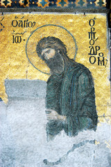 John the Baptist, Hagia Sophia, Istanbul