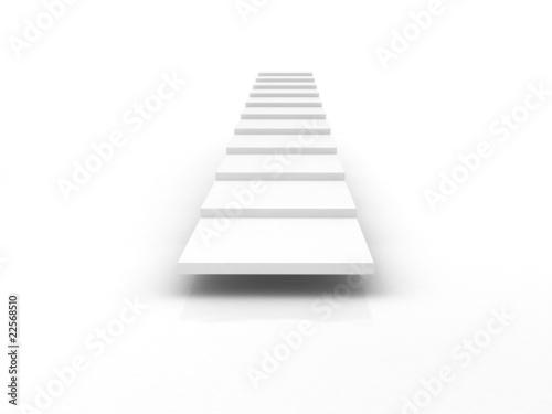Leinwanddruck Bild stairway