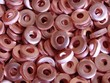 Copper electrical washers