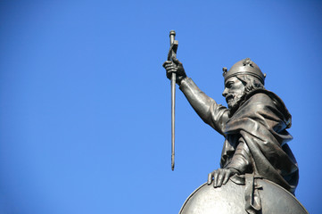 King Alfred The Great statue,Winchester