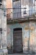 Eroded Havana building detail, cuba
