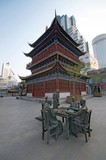 Pagoda and the Bronze Statues