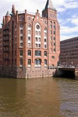 Speicherstadt, Hamburg, Fleet, Lagerhäuser