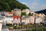 Fototapety Cityscape of Karlovy Vary (Carlsbad)