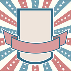 Old colors American Background