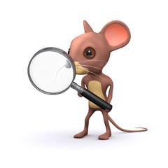 3d Mouse magnifies