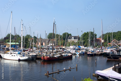 Spaarndam Harbour, the Netherlands