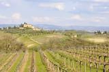Tuscan landscape #1 poster