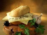 Bocadillo de queso poster