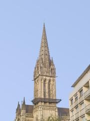 Caen, ciudad de Normandía  destruida en la 2ª guerra mundial