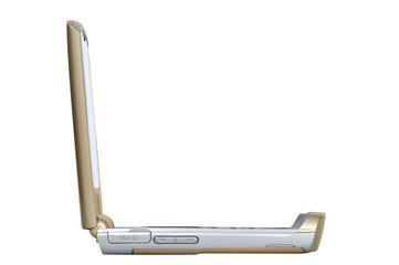 le téléphone mobile d'or
