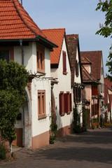 Häuserzeile in Deutschland