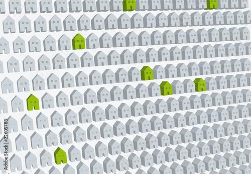 poster of Augmentation des maisons écologiques