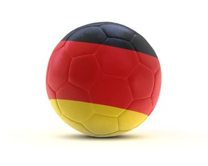 fußball deutschland football germany 3d loop