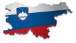 Slowenien 3D Flagge