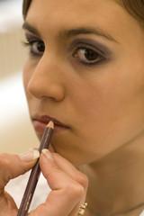 Lippen schminken 3