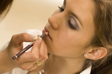 Lippen schminken 6