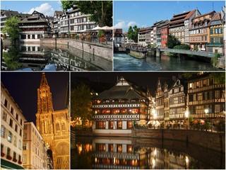 Les endroits touristiques de Strasbourg