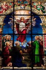 Resurrection of Jesus Christ – Easter window in Stockholm Church