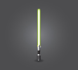 Green lightsaber
