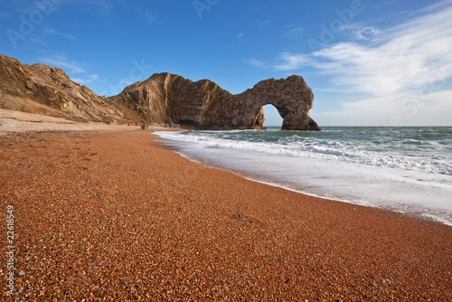 Jurassic coast in Dorset England, world nature heritage