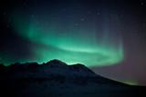 Fototapete Phänomen - North pole - Nacht