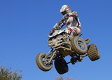 Quad 19 jumping