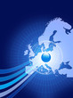 European background design