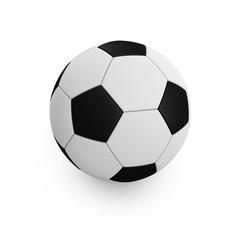 Fussball mit Freistellungspfad