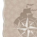 Travel and adventures background with compass rose poster