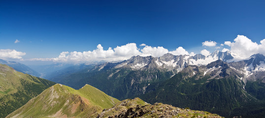 alta Val di Sole, vista panoramica