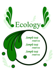 ecology pritection sign