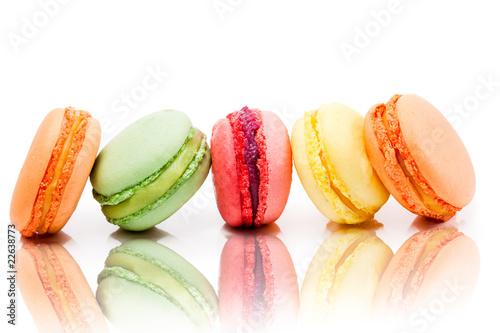 Leinwandbild Motiv Macaron