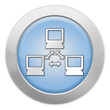 "Light colored Icon ""Computer Network"""