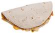 Quesadilla Isolated on White - 22642902