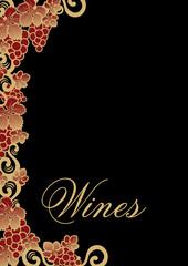 carta de vinos inglés