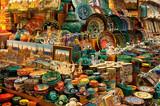 Shop selling porcelain on the Grand Bazaar poster