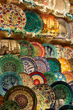 Plates at the Grand Bazaar poster