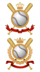 Baseball coat of arms