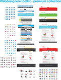 Fototapety Webdesigners toolkit - premium web collection