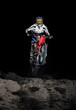 Motocross in the dark