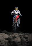 Motocross in the dark