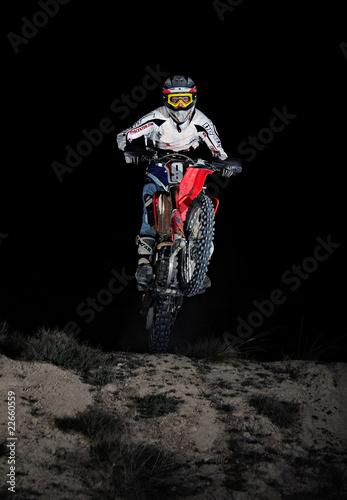 Motocross in the dark - 22660559