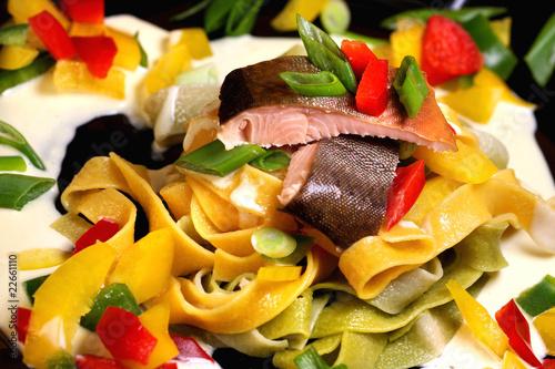 Pesce, Pepper und Pasta