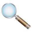 Detaily fotografie ikona lupy