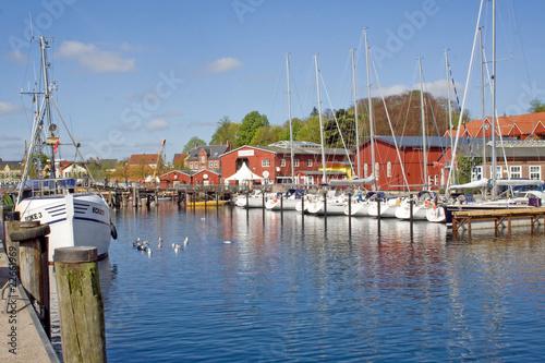Fischereihafen mit alter Werft in Eckernförde (Schleswig-H.) - 22661969